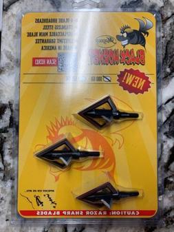 Magnus 100 GR Black Hornet 4 Blade 3 Pack - BH100-4