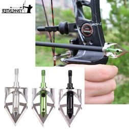 "100 Grain Broadheads 4/5"" Cutting Diameter For Compound Bow"