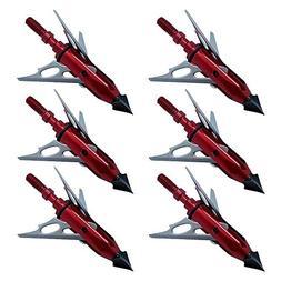 MiniXX 100 Grain Chisel 3-Blade Broadheads for Hunting and F