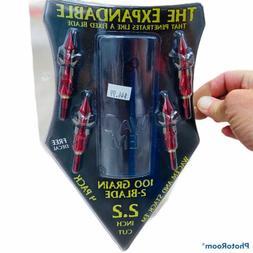 Wac'em Archery Products Wac'em 100Gr 2 Blade Expandable Broa