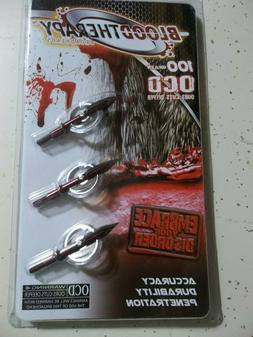 Blood Therapy Broadheads - 100gr