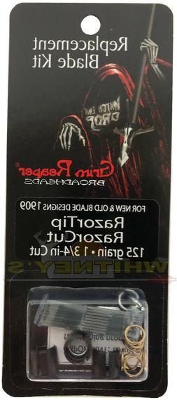 Grim Reaper 125 Grain Extra Replacement Kit