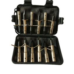 12PCS 260 Grain Bow Fishing Broadheads+1 Black Box for Arche