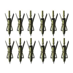 12Pcs RAGE X-TREME Broadheads 100 Grain