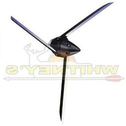 Bullhead 3 Blade Arrow Broadhead , 125-Grain/4-Inch