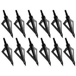3 blades archery hunting broadheads