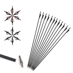 31.5'' Archery Carbon Arrow with Nocks Tip or Arrowheads Bro