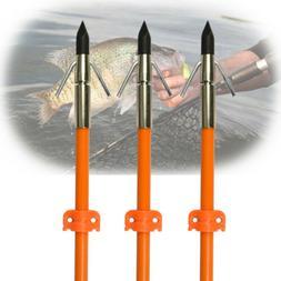 """32"""" Hunting Fishing Shooting Fiberglass Bowfishing Arrows Br"""