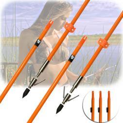 "32"" Hunting Fishing Shooting Fish Bowfishing Arrows with Bro"
