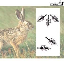 360° 3-blade Broadheads 100 Grain Archery Hunting for Compo