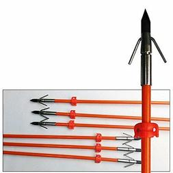 6pk gpp 32 inches orange hunting bowfishing