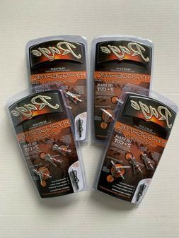 "4 packs Rage Crossbow Hypodermic Broadheads 100 Grain 2"" Cut"