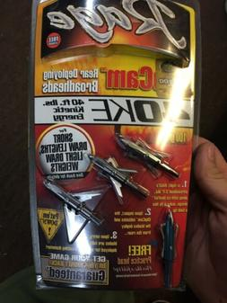 Rage 40 KE 100 Grain Low Poundage Broadheads