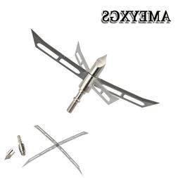 6/12pcs Archery Hunting Tips Arrowheads 128gr <font><b>4</b>