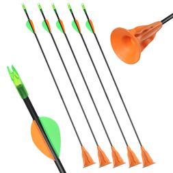 6/9/12pcs Archery Sucker Arrows Safe <font><b>Broadhead</b><