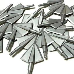 "6 X 125 Grain Cut 1.1""  Unibody Design Broadheads 2 Fixed So"
