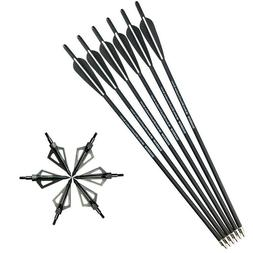 6pcs 20 crossbow bolts arrows archery hunting