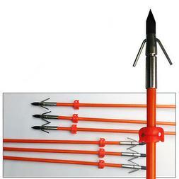6pcs Hunting Bowfishing Arrows with Broadhead