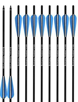 PANDARUS Archery Carbon Crossbow 17/20/22-Inch Arrows Bolt C