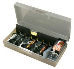 "MTM BH1-41 72+ Broadheads Accessory Box 4.5""x 8.2""x 2"" Smoke"