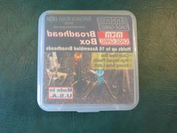 MTM BH16 Broadheads Storage Box - Stores 16 Heads