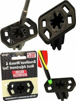 MTM BHW Broadhead Wrench & Nock Adjustment Tool