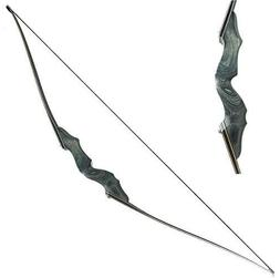 Obert Black Hunter Archery Takedown Recurve Bow American Lon