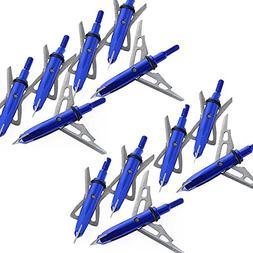 Bcslinek Archery Two Extensible Blade Broadhead Blue Archery