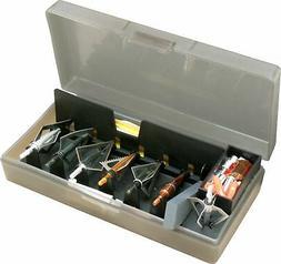 MTM Broadhead Accessory Box Clear Smoke 8.5x4.5x2 BH-1-41