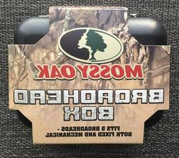 Mossy Oak Broadhead Hard Case Box Fits 5 Broadheads Fixed An