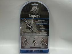 """Ramcat Broadheads  - 1 3/8"""" 100 Grain 3 Blade Broadhead - NI"""