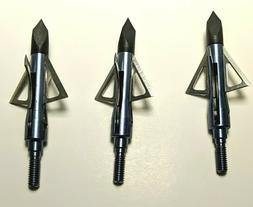 Broadheads 100 Grain 4 Blades Arrowheads For Hunting Arrows