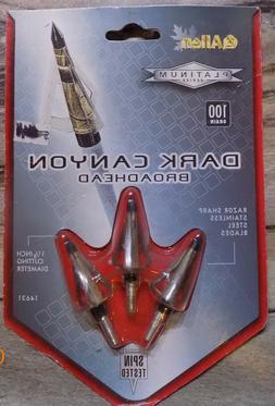 broadheads 100gr 125gr 3pk nip select one
