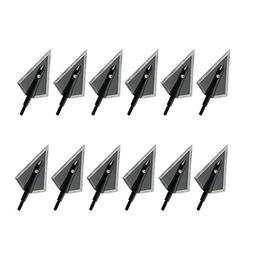 Bcslinek Archery Broadheads 2 Blade Fixed Hunting Arrowheads