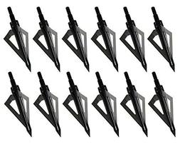 Broadheads Archery 100 Grain Crossbow Compound 3 Blade Arrow