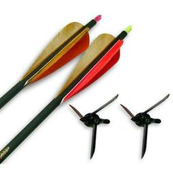 Magnus Bullhead Turkey Bow Kit 2 arrows/2 heads 100gr. BHC10