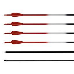 ALBERTU Carbon Arrows 12Pcs Hunting Targeting Archery Arrows