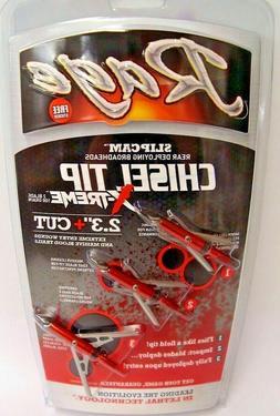 "Rage Chisel Tip X-treme 100 Grain Broadheads 2.3"" Cut - R551"
