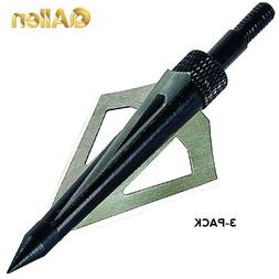 "Allen Co. Grizzly 3-Blade 1-3/16"" 125-Grain Broadheads"