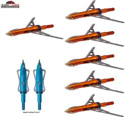 Rage Crossbow X-Extreme Broadhead, 100 Grain, Orange