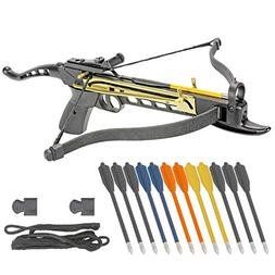 KingsArchery Crossbow Self-Cocking 80 LBS with Adjustable Si