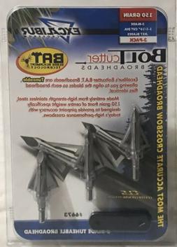 Excalibur Crossbow/Xbow Bolt Cutter Broadheads B.A.T 150 gr
