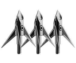 Ramcat Deep Six Black Broadhead , 125 Grain