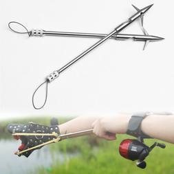 Durable Stainless Steel Hunting Slingshot Shooting Fish Arro