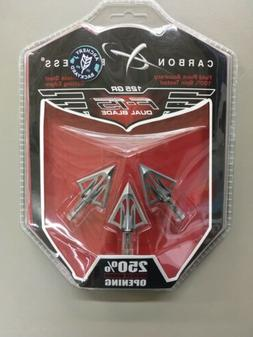 Carbon Express F-15 Fixed Blade Broadheads, 125gr.  Lot AA-5