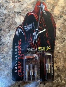 Grim Reaper Fatal Steel Crossbow Broadheads - 125 Grain 1 1/