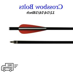 Fiberglass Crossbow Bolts,Target Practice Arrow with Removab