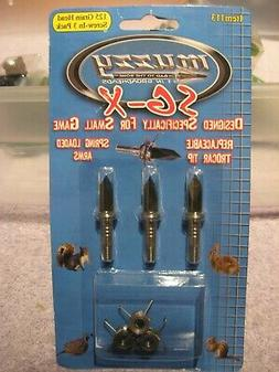 Muzzy 113 - SG-X Bowhunting Small Game Grasshoppers 125 Grai