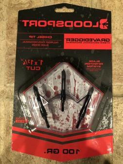 Bloodsport Grave Digger - Chisel Tip Broadhead 100 gr. 3 pk.