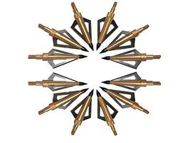 Hunting Broadheads, Sinbadteck 12PK 3 Blades Archery Broadhe